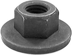 FREE SPINNING WASHER NUTS, M8-1.