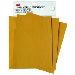 "FRE-CUT GOLD PAPER SHEETS 9"" X 1"