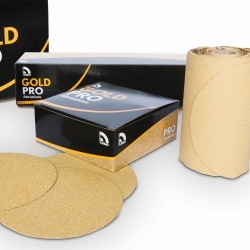 "GOLD PRO 6"" PSA GOLD DISCS/ROLL"