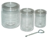 MT CLEAR PLASTIC QUART CANS (48)
